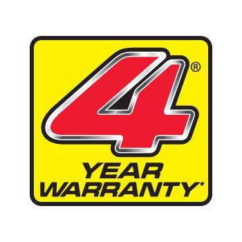 Honda F220 4 Year Warranty
