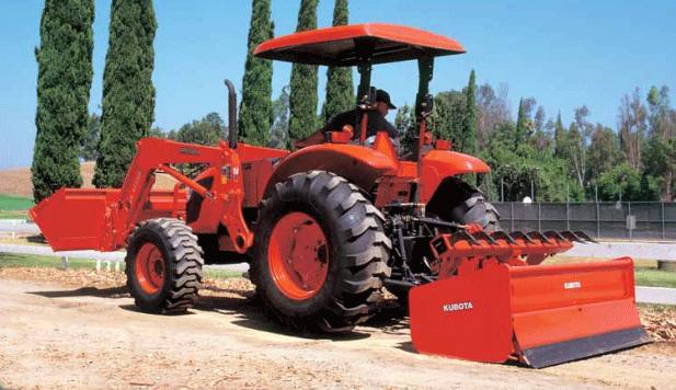 Kubota M6040/M7040/M8540/M9540 Series Diesel Tractors - 60 - 95 HP
