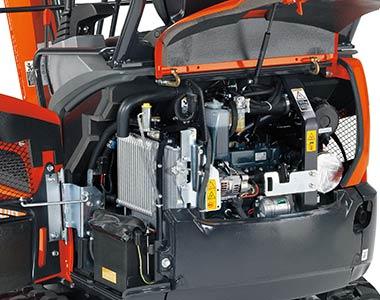 Consolidated components KX016-4 1.5 Tonne Zero Swing Excavator