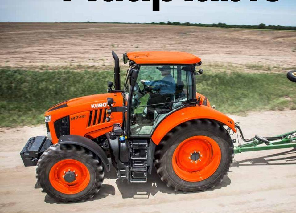 Kubota M7 Series Diesel Tractors - 128 0-168HP Sales And