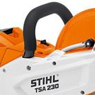 Ergonomic handle STIHL Cordless Cut Off Saw