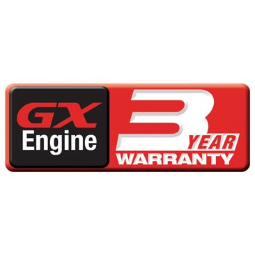 Honda GX340 3 Year GX Warranty