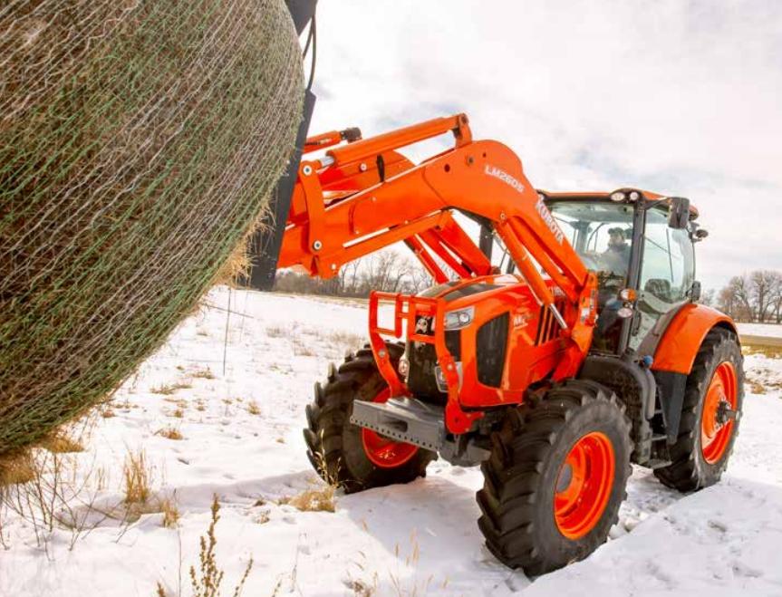 KubotaM7-tractor-frontloader