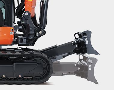 MG 7279 KX057-4 5.4 - 5.6 Tonne Zero Swing Excavator