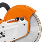 Magnesium guard STIHL Cordless Cut Off Saw