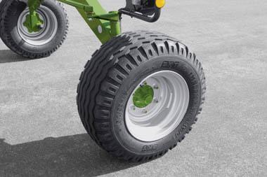 TC880P Big Tyres Krone Swadro Australia KRONE SWADRO TC 880P TWIN ROTOR CENTRE DELIVERY RAKES