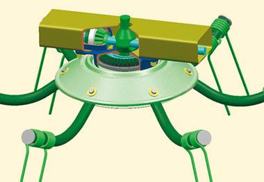 Tedder Gearboxes Lubricated 2 KRONE KWT 1600 / 2000 TRAILED ROTARY TEDDERS