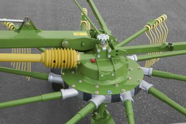 Tine Height adjustment Swadro TC680 Krone Australia KRONE SWADRO TC 680 TWIN ROTOR CENTRE DELIVERY RAKES