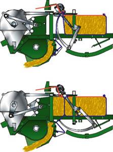 knotter BiG Pack 6 KRONE BIG PACK 1290 HDP II (XC) BIG SQUARE BALER
