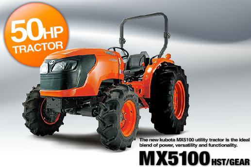 kubota mx5100 engine: