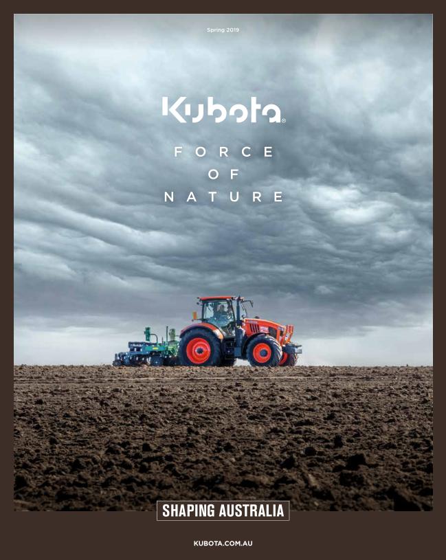 Kubota Force Of Nature q3 Catalogue