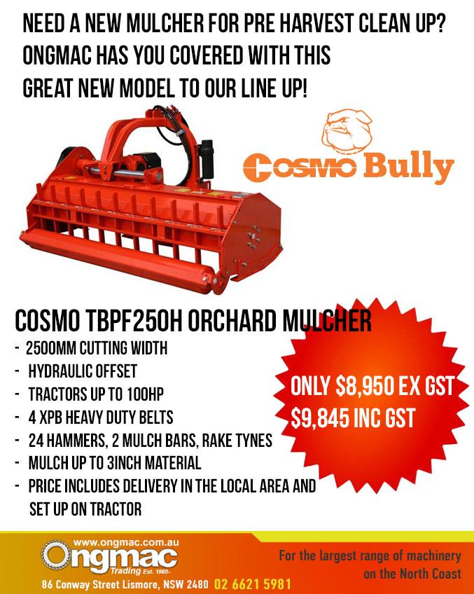 Cosmo Bully Orchard Mulcher