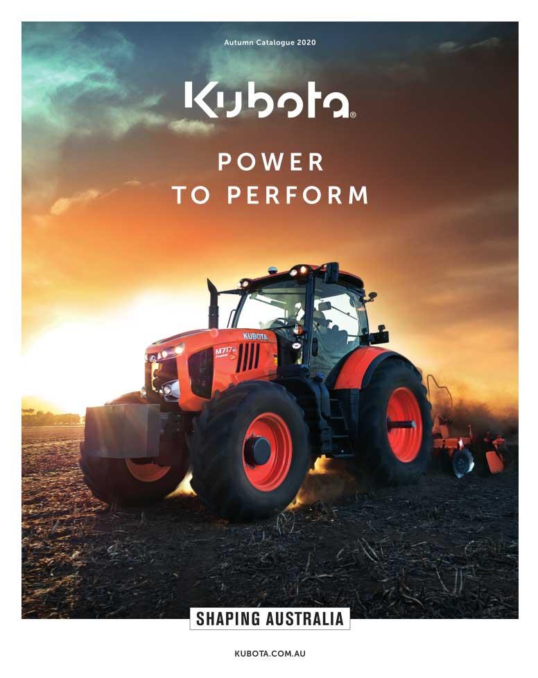 Kubota Autumn Catalogue