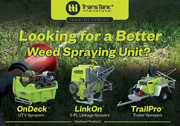 TTi Product Showcase Weed SprayersFB
