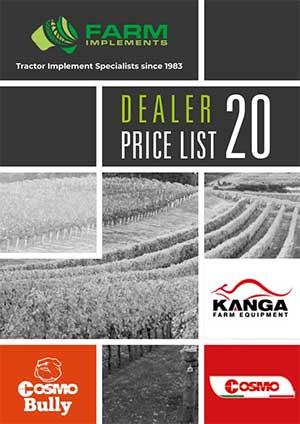 Farm Implements Price List Link Image PDF