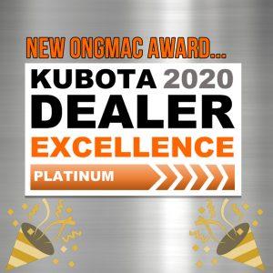 Kubota Dealer Excellence Platinum 2020