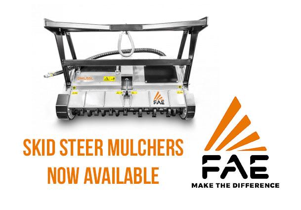 FAE Skid Steer Mulchers