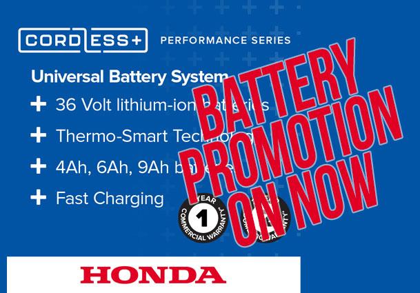 Honda Battery Promotion